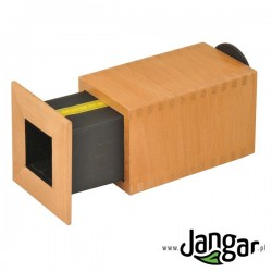 Camera obscura, przyrząd drewniany