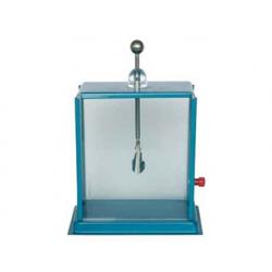 Elektroskop dwulistkowy kwadratowy z szybkami