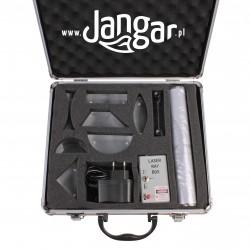 Zestaw magnetyczny do optyki geometrycznej z laserem diodowym, w walizce