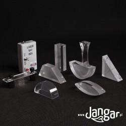 Zestaw magnetyczny do optyki geometrycznej z laserem diodowym