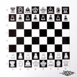 Demonstracyjne szachy magnetyczne