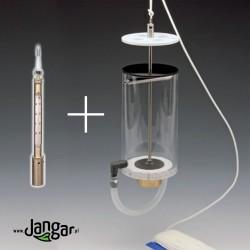 Czerpacz wody z termometrem - profesjonalny EKOzestaw