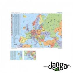 Mapa ścienna: Mapa polityczna Europy