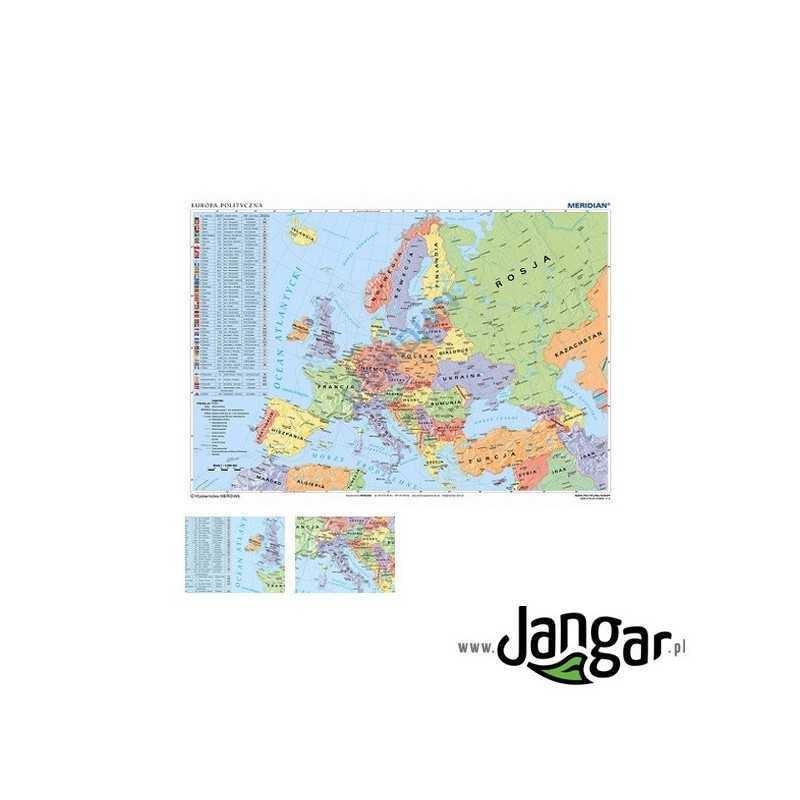 Mapa Scienna Mapa Polityczna Europy