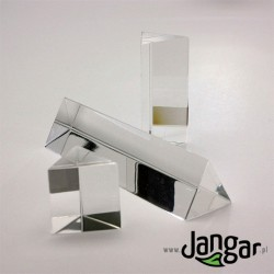 Zestaw 3 różnych pryzmatów akrylowych (25, 50, 100 mm)