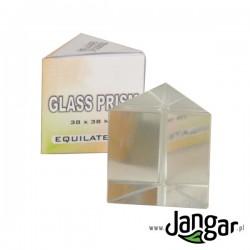 Pryzmat szklany równoboczny 38mm
