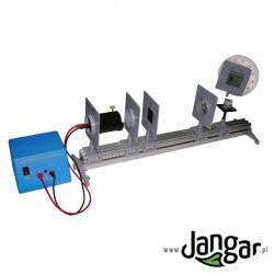 Zestaw do optyki z ławą optyczną (60) i pełnym wyposażeniem
