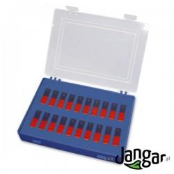 Zestaw 20 magnesów sztabkowych w pudełku