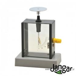 Elektroskop w obudowie metalowej