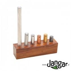 Zestaw 6 różnych cylindrów – jednakowy ciężar