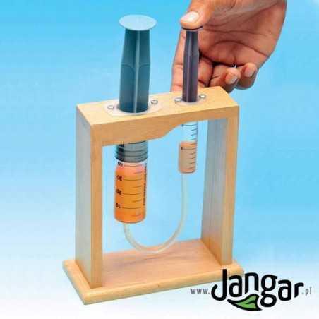 Prasa hydrauliczna – uproszczony model